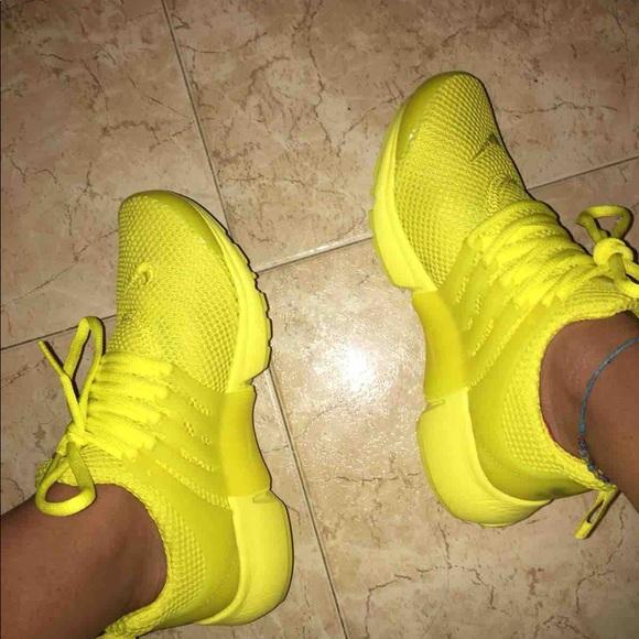 new concept 2ca73 a9039 Nike Presto Yellow